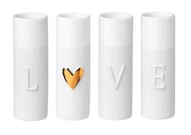 Radar Porcelain Love Vases