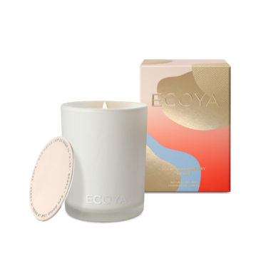 Limited Edition ECOYA Candle in Madison Jar - Wild Strawberry Frosé