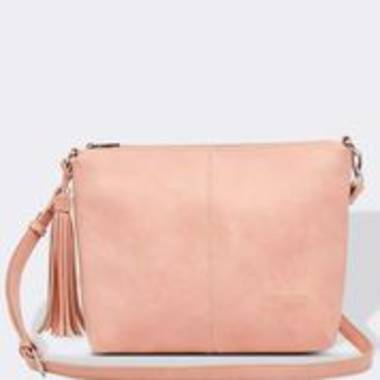 Daisy Cross Body Bag - Pale Pink