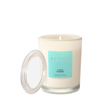 ECOYA Candle in Metro Jar - Lotus Flower