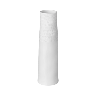 Räder Porcelain Vase - Small Poetry