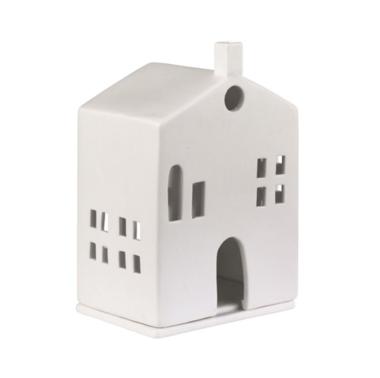 Porcelain Tealight House - Round Door
