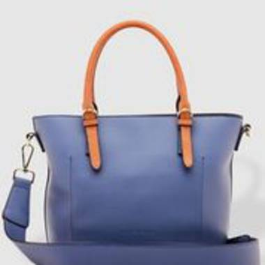 Rumer Bag in Steel Blue