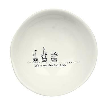 Wobbly Medium Bowl - It's A Wonderful Life