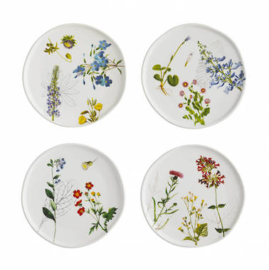 Arcadia Plates - Set of Four