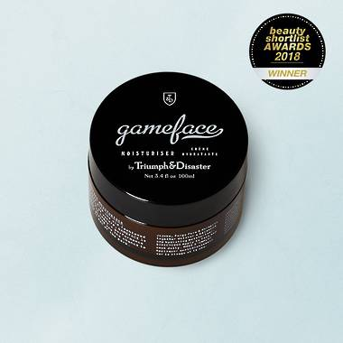 Gameface Moisturiser Jar - 100mL