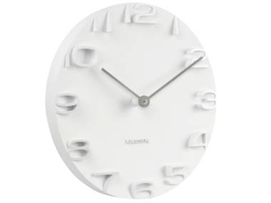 Karlsson On The Edge Wall Clock - White