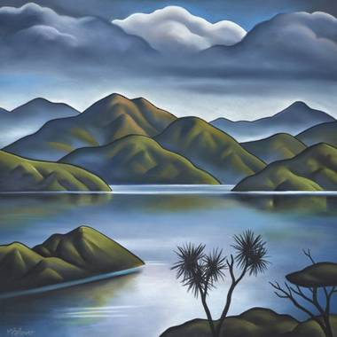 Mike Glover Art - Blue Air