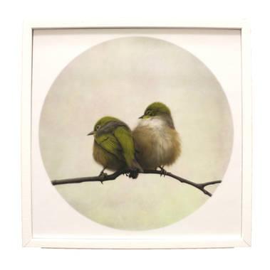 Nathan Secker Art - Nestle (white frame)