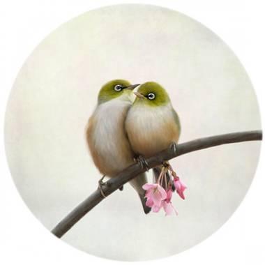 Nathan Secker Art - Togetherness (white frame)