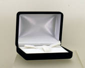 FU13 Tie Pin/Cufflink Box - 3 Clips Pad