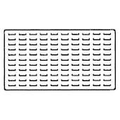 GA800B Tray Insert 110 Ring Slots