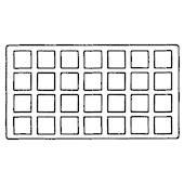GA828 Tray Insert 28 Ring Inserts