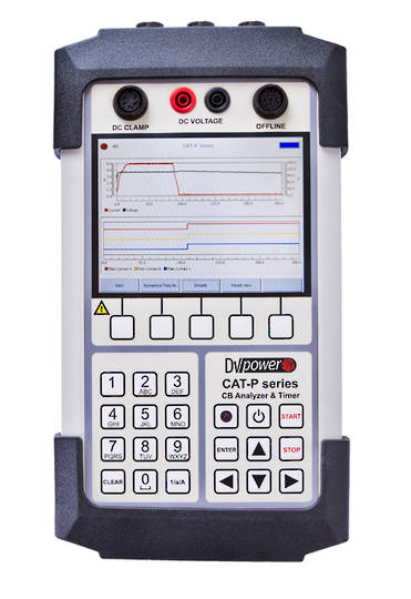 DV-Power CAT Handheld Series Circuit Breaker Analyser