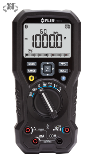 Flir DM93 Datalogging True RMS Digital Multimeter