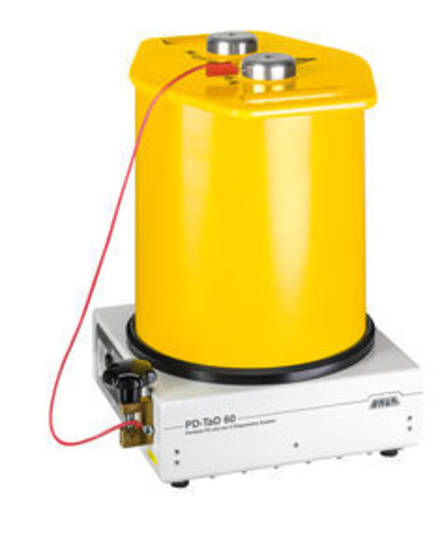 Baur PD-TaD 62 Offline Partial Discharge Test System for use with VLF generators