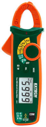 Extech MA63 High Precision mA Clamp Meter True RMS AC/DC