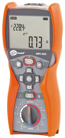 Sonel MPI-502 Multifunction Tester - CAT IV