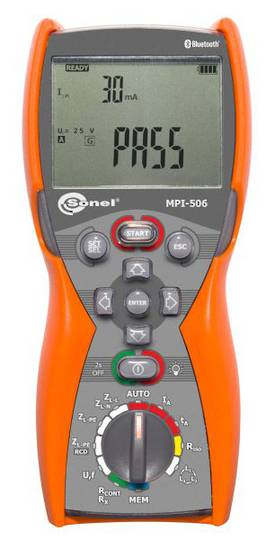 Sonel MPI-506 Multifunction Tester - CAT IV