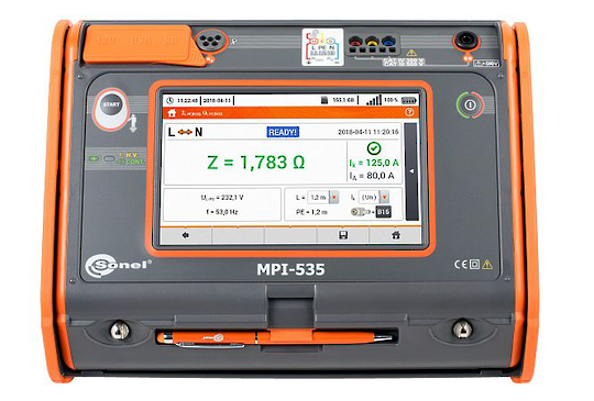 Sonel MPI-535 Multifunction Tester - CAT IV