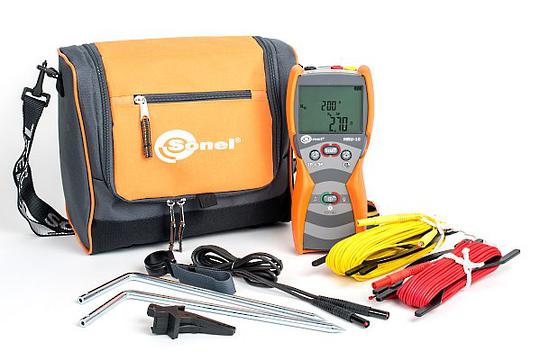 Sonel MRU-10 Handheld Earth Resistance Meter CAT IV