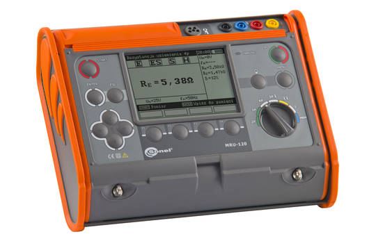 Sonel MRU-120 Earth Resistance and Resistivity Tester - CAT IV