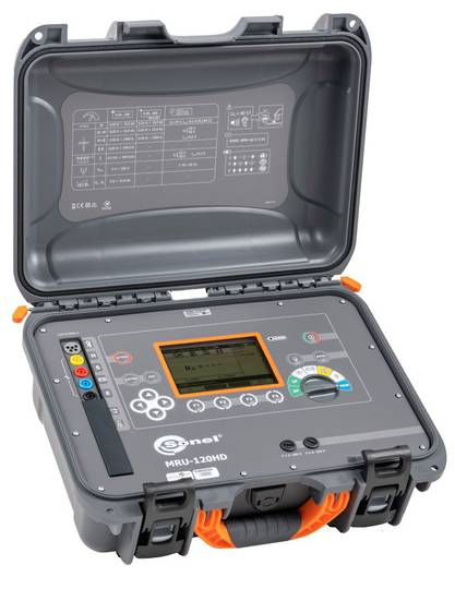 Sonel MRU-120HD Earth Resistance and Resistivity Tester - CATIV