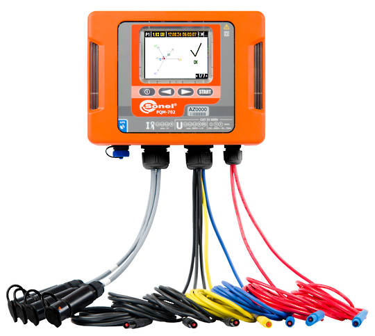 Sonel PQM 702 Power Quality Analyser