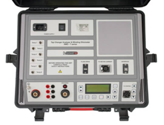 DV-Power Winding Resistance Meter and Tap Changer Analyser - RMO-TW, TD and TT Series
