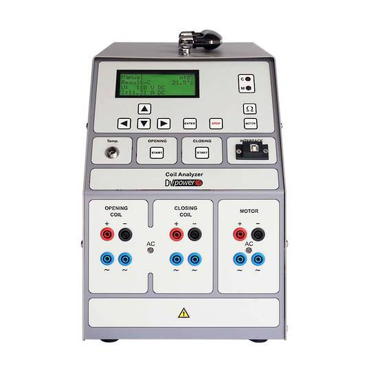 Circuit Breaker Power supply and Coil Analyzer DV-Power SAT40