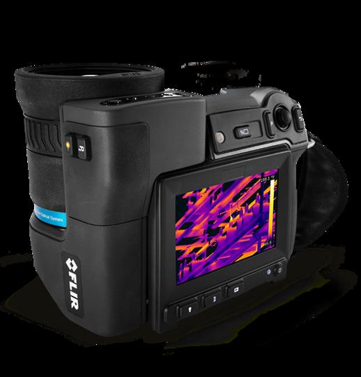 Flir T1K Thermal Imaging Cameras (1024x768 Pixel)