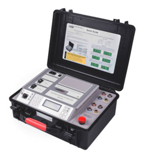 DV-Power Turns Ratio Testers TRT40 series