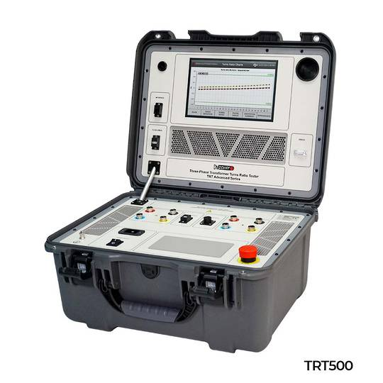 DV-Power TRT Advanced Series True Three-Phase Transformer Turns Ratio Tester