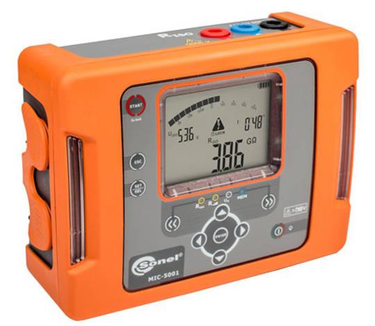 Sonel MIC-5001: 5kV Insulation Resistance Tester - CATIV