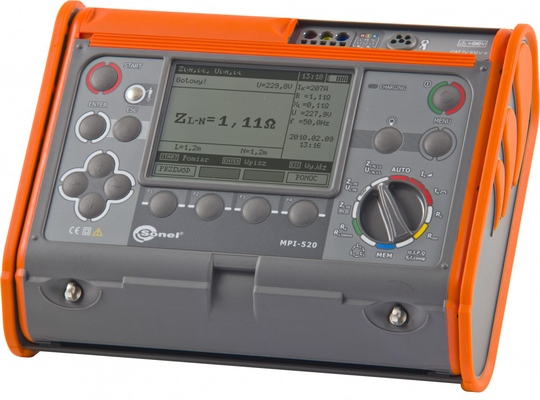 Multifunction Tester for Electrical Installations Sonel MPI-520