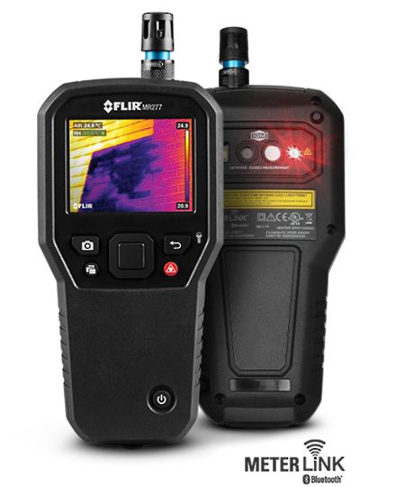 FLIR MR277 Building Inspection IR Camera with Moisture & Psychrometer
