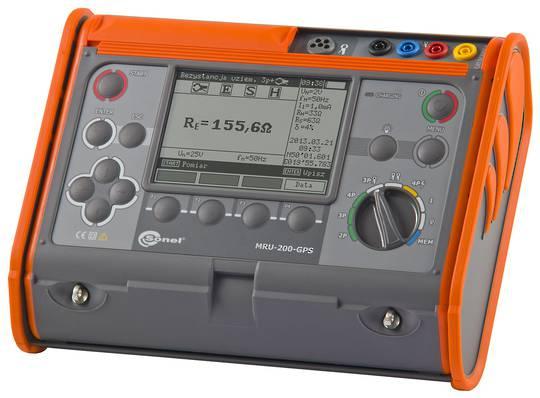 Sonel MRU-200-GPS Earth Resistance and Resistivity Tester - CATIV