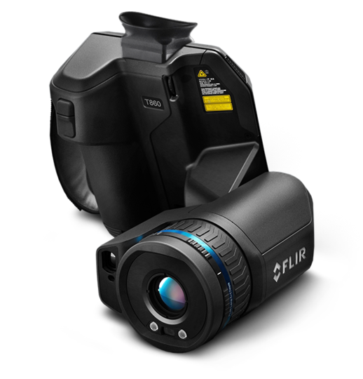 Flir T840 Thermal Imaging Camera (464x348 Pixel)