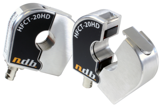 NDB Tech HFCT-20HD & HFCT-60HD PD Detection Clamps