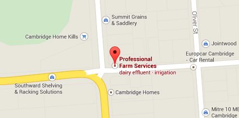 Professional Farm Services Location