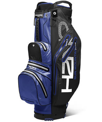 Sun Mountain H2NO Lite Cart Bag 2019 Black/Blue/White