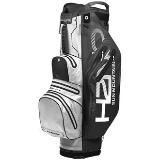 Sun Mountain H2NO Lite Cart Bag 2019 Black/White