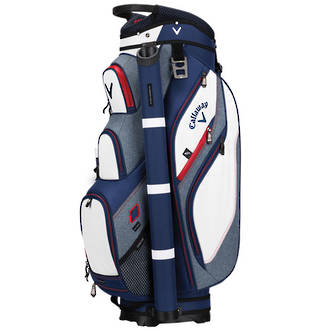 Callaway Forrester 2.0 Cart Bag - Navy/White/Red