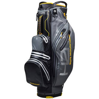 Sun Mountain H2NO Lite Cart Bag 2019 Gunmetal/Black/Sun