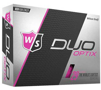 Wilson Staff Duo Soft Optix Pink