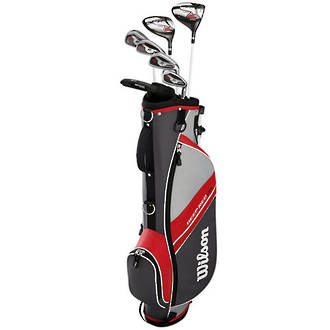 Wilson Deep Red Junior 11-14 Package Set