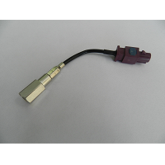CONNECTOR ADAPTOR TERMINATED FAKRA MALE & FME MALE