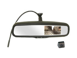 "4.3"" OEM REVERSE MIRROR MONITOR WITH CAMERA - RC03"