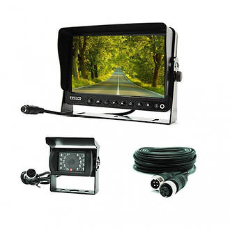 "REVERSING CAMERA WITH 7"" MONITOR - 12/24 VOLT - RC04"