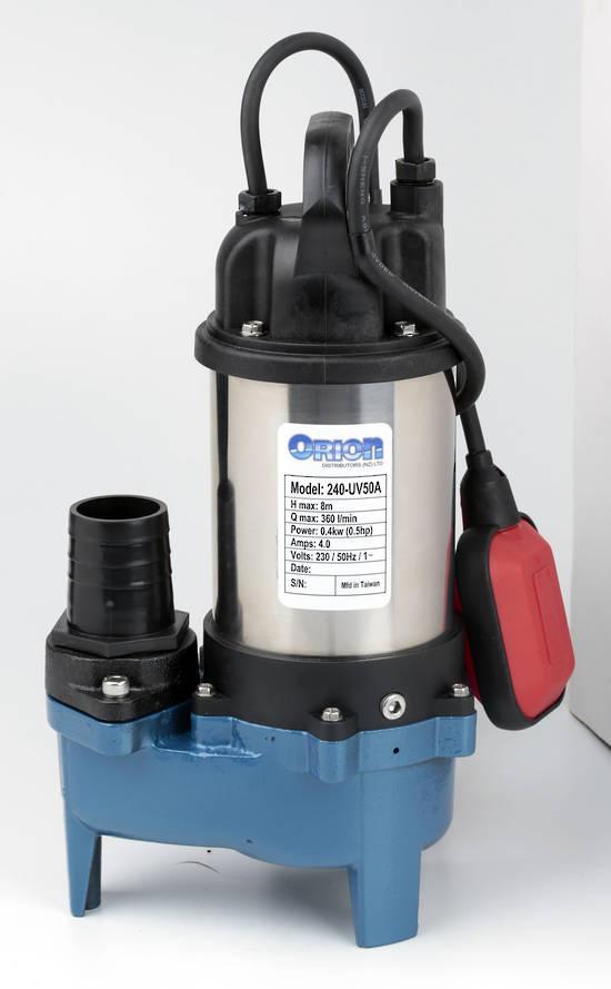 240-UV50A submersible vortex pump